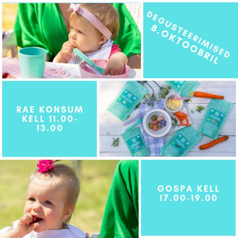 8.oktoobril toimuvad BabyCool degustatsioonid