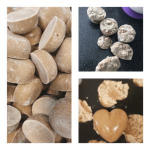BabyCool veiselihapüree kuubikute erinevatest tekstuuridest